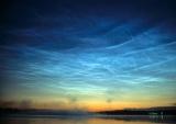 Зонд NASA сфотографував рідкісні сріблясті хмари